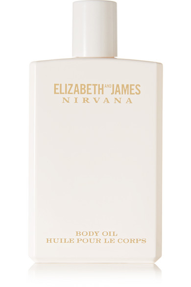 ELIZABETH AND JAMES NIRVANA Nirvana White Body Oil - Peony, Muguet & Tender Musk, 100Ml in Colorless