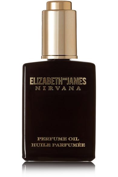 ELIZABETH AND JAMES NIRVANA Nirvana Black Perfume Oil - Violet, Sandalwood & Vanilla, 14Ml in Colorless