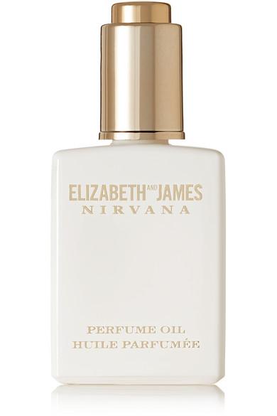 ELIZABETH AND JAMES NIRVANA Nirvana White Perfume Oil - Peony, Muguet & Tender Musk, 14Ml in Colorless