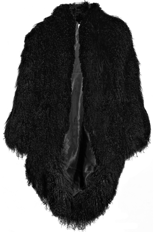 Paul & Joe Mongolie shearling coat