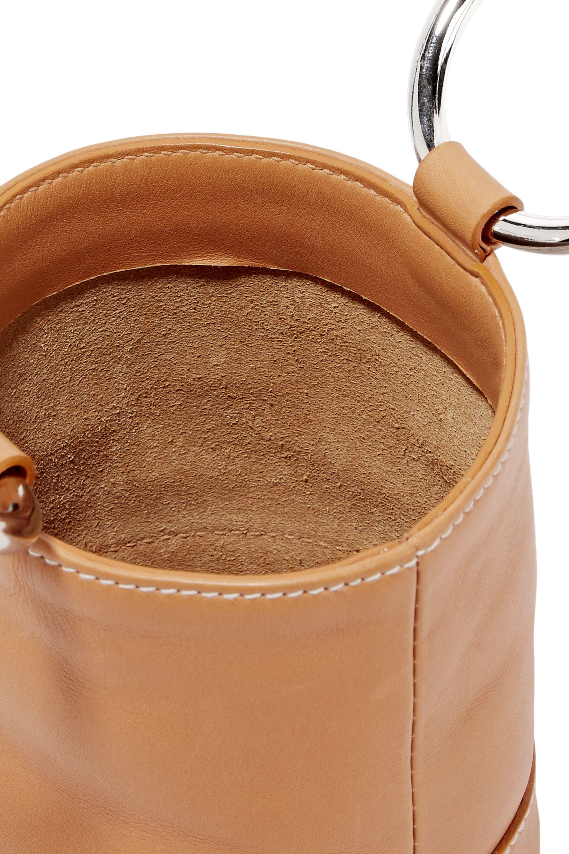 SIMON MILLER Bonsai mini leather tote