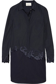 3.1 Phillip Lim Embroidered cotton-poplin shirt dress