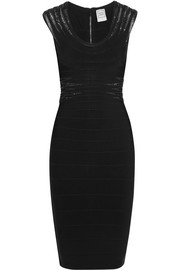 Hervé Léger Embellished bandage dress
