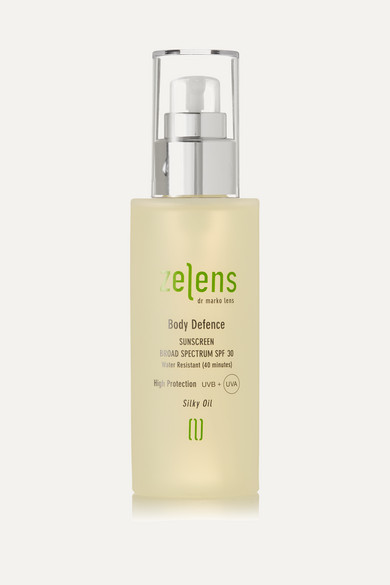 ZELENS Body Defence Sunscreen Spf30, 125Ml - Colorless