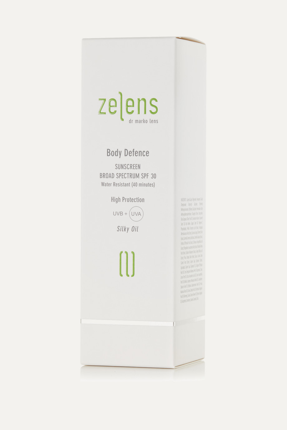 Zelens Body Defence Sunscreen LSF 30, 125 ml – Sonnenöl