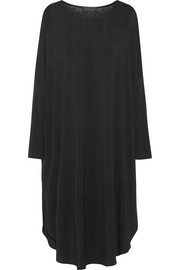The Drape stretch-jersey dress
