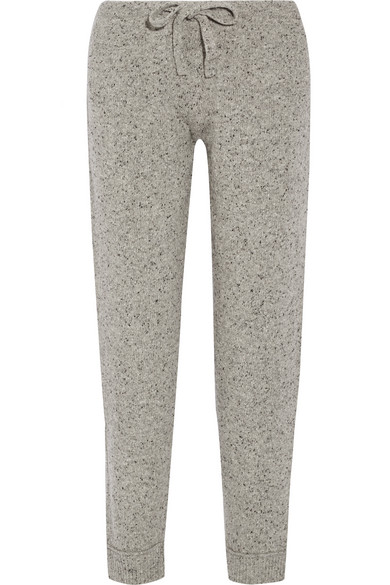 Hatch - The Jogger Mélange Wool-blend Track Pants - Gray