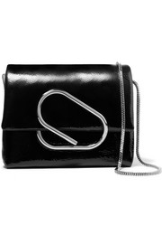 3.1 Phillip Lim Alix micro patent-leather shoulder bag