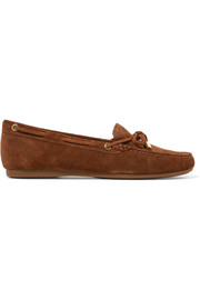 Sutton suede loafers