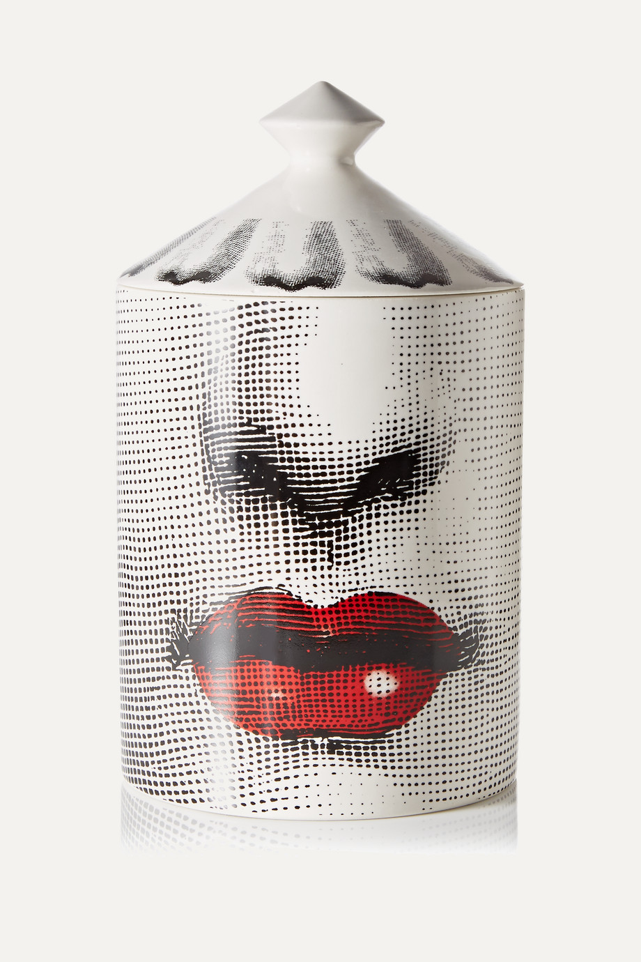 Fornasetti Bacio Thyme, Lavender and Cedarwood scented candle, 300g