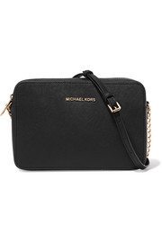 MICHAEL Michael Kors Jet Set Travel textured-leather shoulder bag