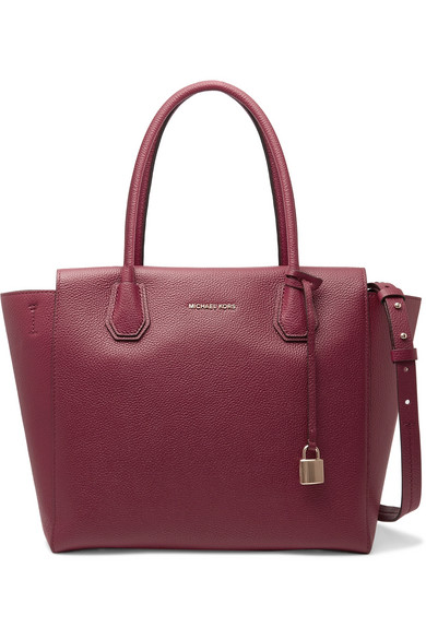 michael michael kors mercer large textured leather tote net a porter