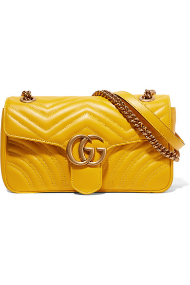 c56d4309eb7c Gucci | GG Marmont small quilted leather shoulder bag | NET-A-PORTER.COM