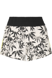 Bamboo Cruise printed stretch-jersey shorts