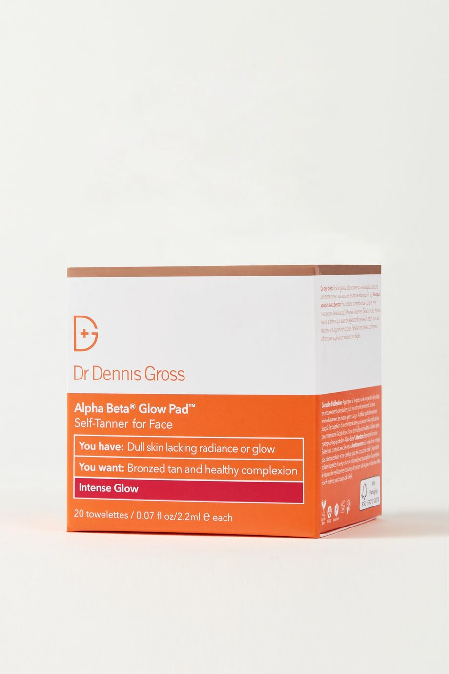 Dr. Dennis Gross Skincare Alpha Beta® Glow Pad For Face