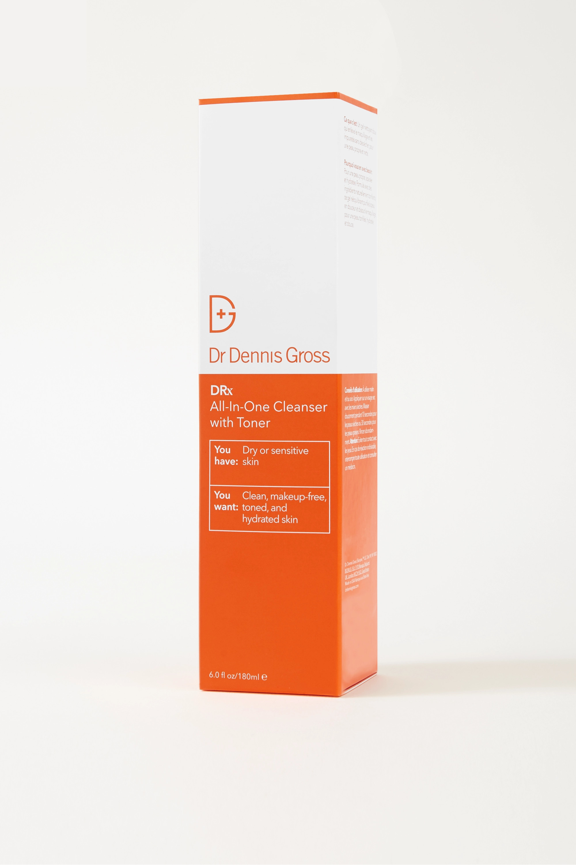 Dr. Dennis Gross Skincare All-In-One Cleanser With Toner, 180ml
