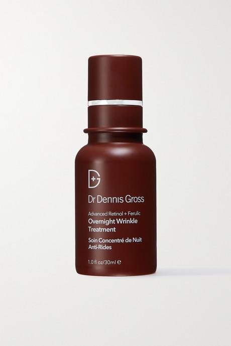 Colorless Ferulic + Retinol Wrinkle Recovery Overnight Serum, 30ml | Dr. Dennis Gross Skincare LBoipM