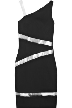 Michael Kors | Asymmetric wool-blend dress | NET-A-PORTER.COM from net-a-porter.com