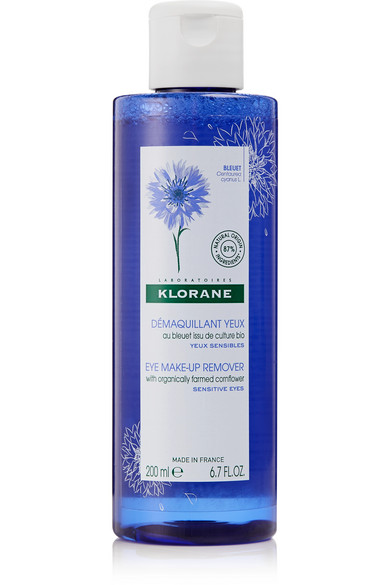 KLORANE Waterproof Eye Makeup Remover With Soothing Cornflower, 100Ml - Clear