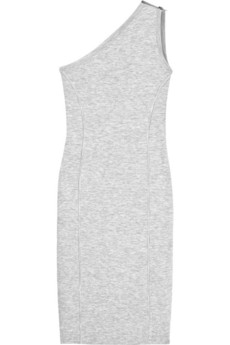Michael Kors | One-shouldered wool-blend dress | NET-A-PORTER.COM from net-a-porter.com