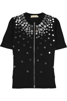 Michael Kors|Mirrored cashmere cardigan|NET-A-PORTER.COM from net-a-porter.com