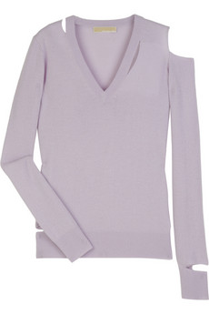 Michael Kors | Cashmere slashed sweater | NET-A-PORTER.COM from net-a-porter.com