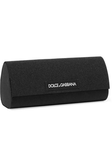 5dbc94f1ab1 Dolce   Gabbana. Round-frame rose gold-tone sunglasses.  240. Zoom In