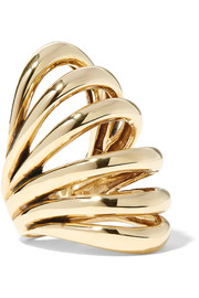 Insolare bronze ring