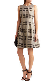 Vivienne Westwood Anglomania Joan metallic jacquard dress