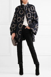 Vivienne Westwood Anglomania Joan printed cotton-blend coat