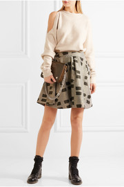 Vivienne Westwood Anglomania New Legend metallic jacquard skirt