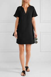 Gabby cutout crepe mini dress