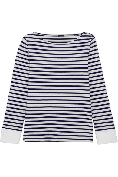 J.Crew - Striped Cotton Top - Navy