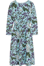 J.Crew Juntos printed silk-crepe dress
