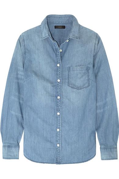 J.Crew - Always Cotton-chambray Shirt - Light denim