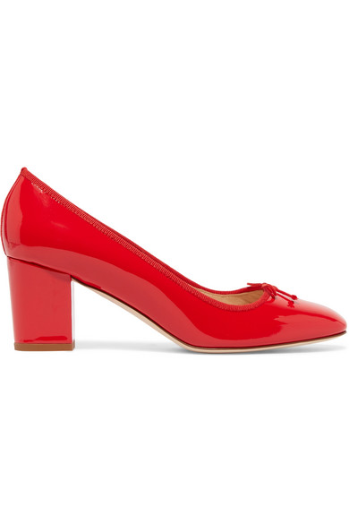 J.Crew - Patent-leather Pumps - Red