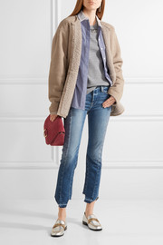 J.Crew Collection Luna shearling coat