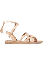 Pink Gin leather sandals
