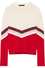Maje Striped wool sweater