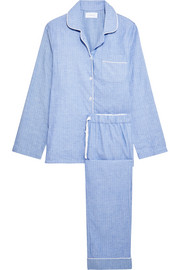 Jamie cotton-flannel pajama set
