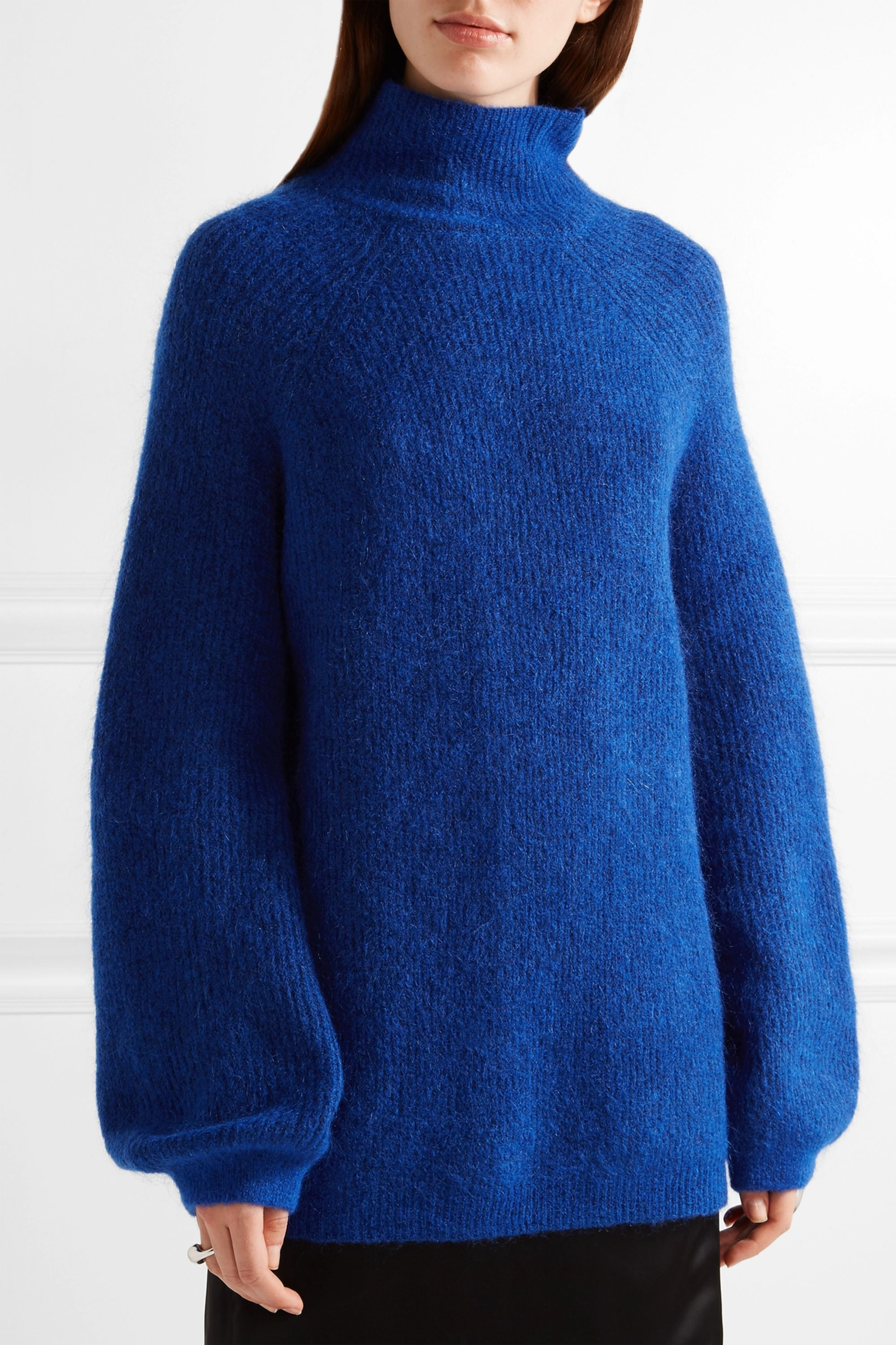 By Malene Birger Balero knitted turtleneck sweater