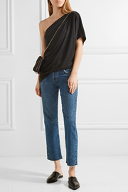 By Malene Birger Asolla one-shoulder modal-blend jersey top