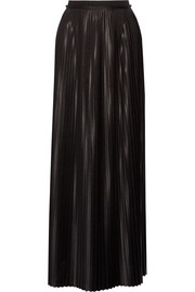 By Malene Birger Doha pleated charmeuse maxi skirt