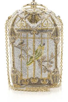 Judith Leiber|Birdcage fine-crystal bag|NET-A-PORTER.COM from net-a-porter.com