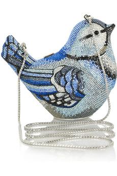 Judith LeiberSpring Fling fine crystal-embellished clutch