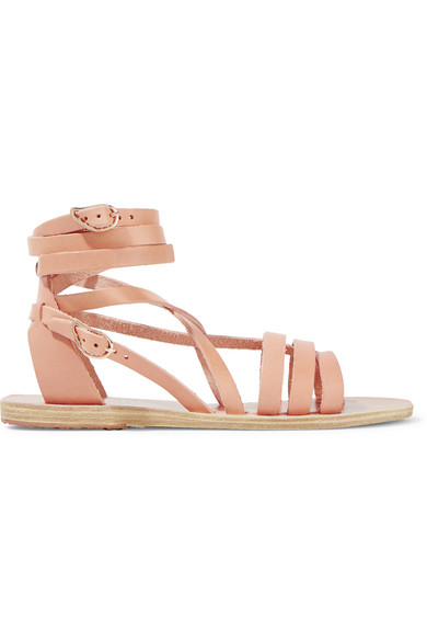 Ancient Greek Sandals - Satira Leather Sandals