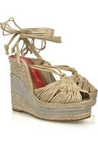 Paloma BarcelóAcacia wedge sandals