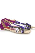Paloma BarcelóDalila flat espadrille sandals
