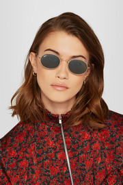 Ray-Ban Icons oval-frame gold-tone sunglasses