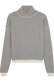 M.i.h Jeans Malmo striped cashmere turtleneck sweater